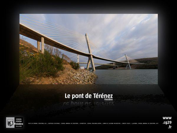 Fonds d'écran : le pont de Térénez